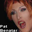 SableBleu performing as Pat Benatar