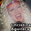 SableBleu performing as Christina Aguilera